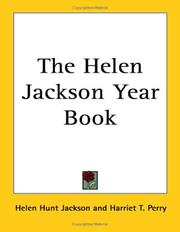 Cover of: The Helen Jackson Year Book