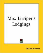 Cover of: Mrs. Lirriper's Lodgings