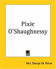 Cover of: Pixie O