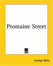 Cover of: Ptomaine Street | Carolyn Wells