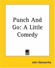 Cover of: Punch and go: a little comedy.