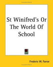 Cover of: St Winifred