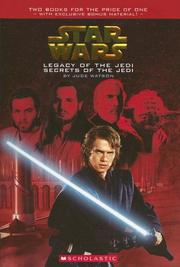 Cover of: Legacy of the Jedi / Secrets of the Jedi