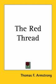 Cover of: The Red Thread | Thomas F. Armstrong