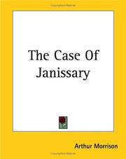 Cover of: The Case Of Janissary
