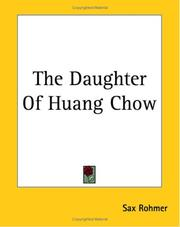 Cover of: The Daughter Of Huang Chow