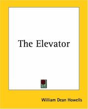 Cover of: The elevator: a farce