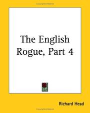Cover of: The English Rogue | Richard Head