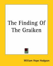 Cover of: The Finding Of The Graiken