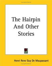 Cover of: The Hairpin And Other Stories