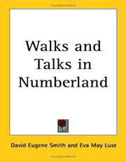 Cover of: Walks And Talks in Numberland