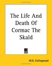 Cover of: The Life And Death Of Cormac The Skald