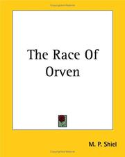 Cover of: The Race of Orven