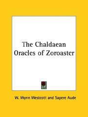 Cover of: The Chaldaean Oracles of Zoroaster