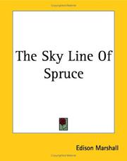 Cover of: The Sky Line of Spruce