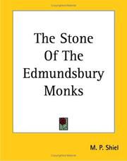 Cover of: The Stone of the Edmundsbury Monks