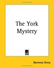 Cover of: The York Mystery