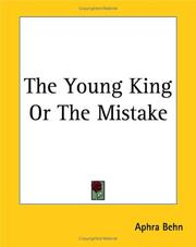 Cover of: The young king, or, The mistake