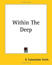 Cover of: Within the Deep | R. Cadwallader Smith