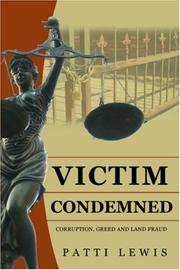 Cover of: Victim Condemned | Patti Lewis
