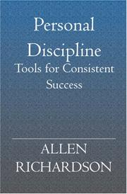 Cover of: Personal Discipline