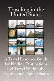 Cover of: Traveling in the United States | Robert J. Francart II