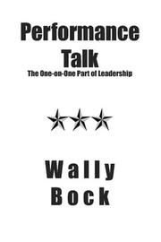 Cover of: Performance Talk