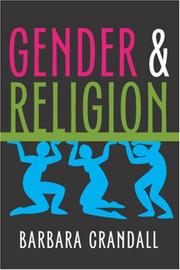 Cover of: Gender and Religion
