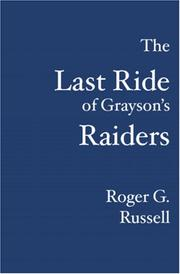 Cover of: The Last Ride of Grayson
