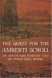 Cover of: The Quest for the Amberti Scroll