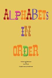 Cover of: Alphabets in Order | Joyce Pyrtle