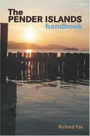 Cover of: The Pender Islands Handbook