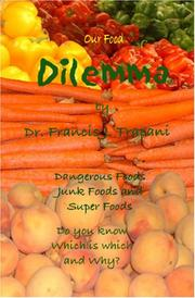 Cover of: Our Food Dilemma | Dr. Frank  J Trapani