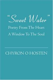 Cover of: Sweet  Water | Chyron O Hosten