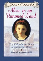 Cover of: Alone in an untamed land