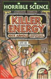 Cover of: Killer Energy (Horrible Science)