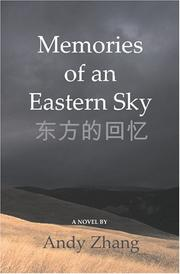 Cover of: Memories of an Eastern Sky | Andy Zhang