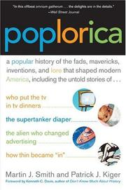 Cover of: Poplorica | Martin J. Smith, Patrick J. Kiger