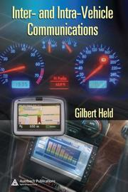 Inter- and intra- vehicle communications by Gilbert Held