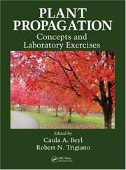 Cover of: Plant Propagation Concepts and Laboratory Exercises |