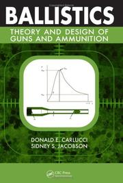 Cover of: Ballistics | Donald E. Carlucci