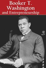 Cover of: Booker T. Washington and Entrepreneurship (Lucent Library of Black History) |