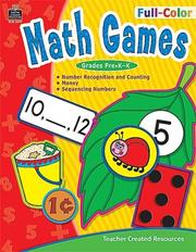Cover of: Full-Color Math Games