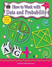 Cover of: How To Work with Data & Probability, Grade 4 | TEACHER CREATED RESOURCES