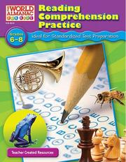 Cover of: Reading Comprehension Practice, Grades 6-8 | DEBRA HOUSEL