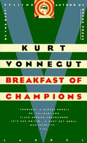 Cover of: Breakfast of Champions: or, Goodbye blue Monday!