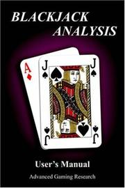 Cover of: Blackjack Analysis User