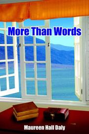 Cover of: More Than Words | Maureen Hall Daly