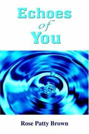 Cover of: Echoes Of You