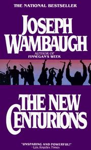Cover of: The New Centurions